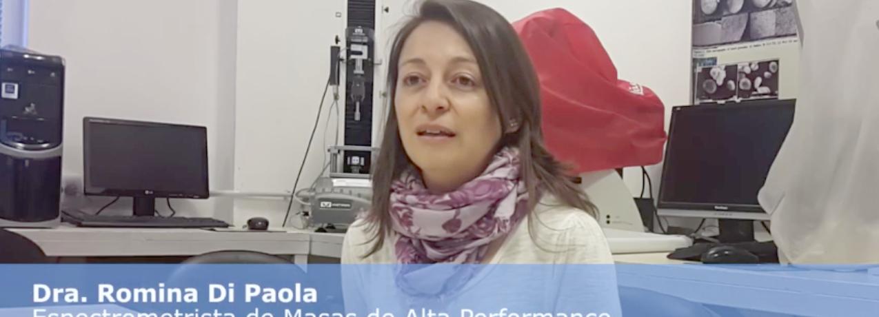 Espectrometría de masas en ICYTAC – Dra. Romina DiPaola