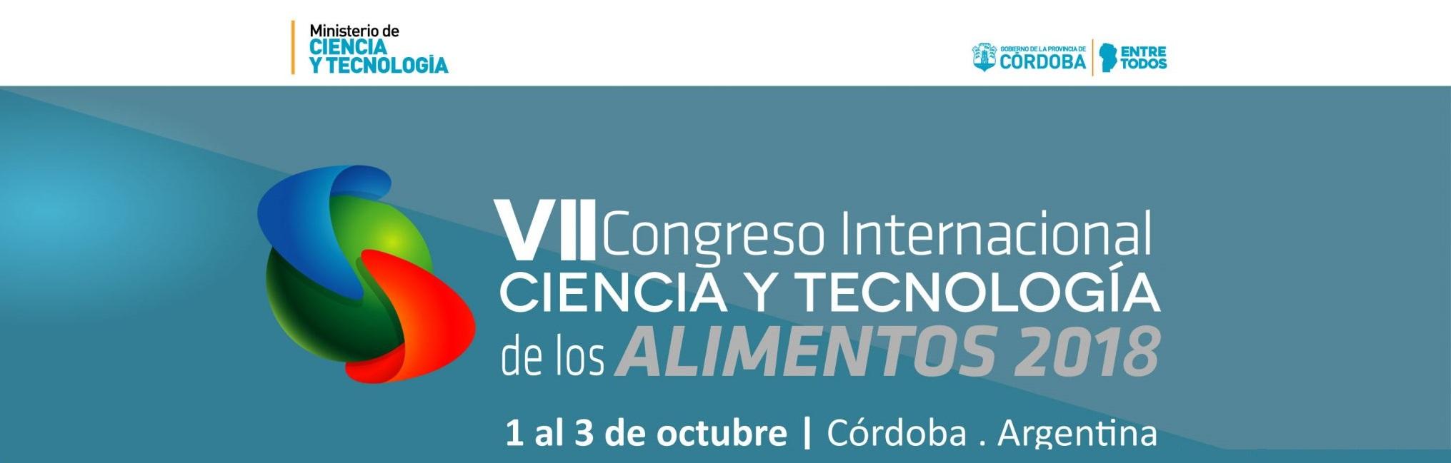 ICYTAC rumbo al VII Congreso Internacional de Alimentos en Córdoba